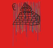 Coffin Squad Pyramid Colours Kids Clothes