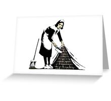 Banksy - Sweep it under the carpet N°2 Greeting Card