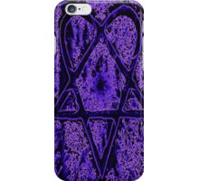 Violet Thoughts Heartagram iPhone Case/Skin