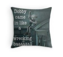 Bobby Came In Like A Wrecking Ball Throw Pillow