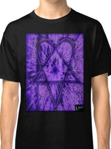 Violet Thoughts Heartagram Classic T-Shirt