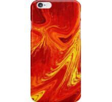 Firing Up Abstract  iPhone Case/Skin