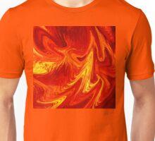 Firing Up Abstract  Unisex T-Shirt