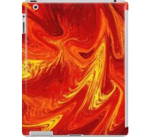 Firing Up Abstract  iPad Case/Skin
