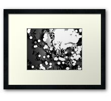 Tree Dappled Framed Print