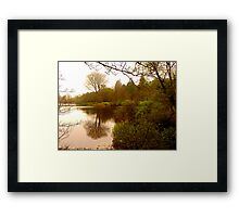 Lake Gartan Framed Print