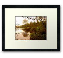 Lake Gartan Framed Print