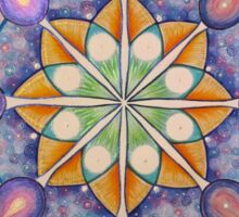 Mandala : Inner Strength  Sticker