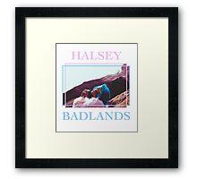 ♡ HALSEY ♡ Framed Print