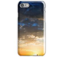 SAYING GOODBYE TO THE DAY iPhone Case/Skin