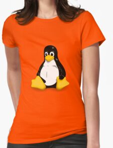 Linux Pinguin Womens Fitted T-Shirt