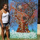 Tree of Life size conparasen ... by LESLEY BUtler