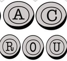 Jack Kerouac Sticker