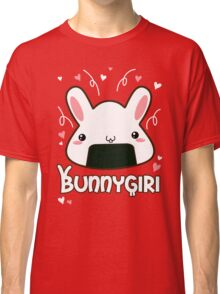 Bunnygiri - Bunny and Onigiri in one! Classic T-Shirt