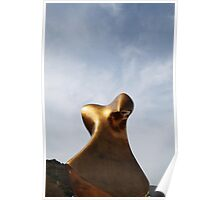 Bronze Form, Henry Moore Poster