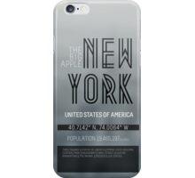 Metropolis New York iPhone Case/Skin