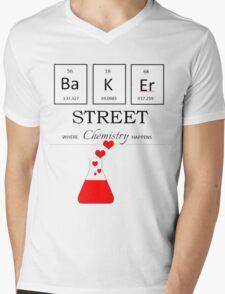 Baker Street Chemistry Mens V-Neck T-Shirt