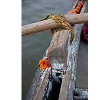 Makeshift Oar Lock Photographic Print