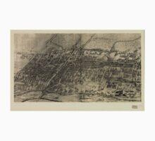 Panoramic Maps Arlington NJ Baby Tee