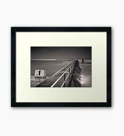 Out Numbered  Framed Print