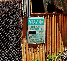 Safety First and Last by Martha Sherman