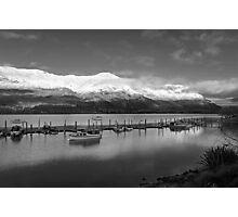 Wanaka at sunrise. South Island, New Zealand Photographic Print