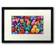 Left-over Easter Eggs Framed Print