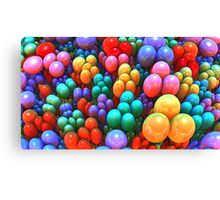 Left-over Easter Eggs Canvas Print