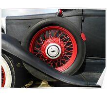 Vintage Auto Poster