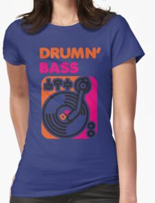 Drum N' Bass Womens Fitted T-Shirt