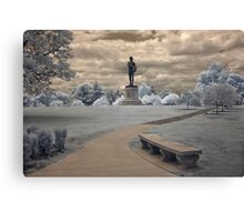 Orpheus in Infra Red at Fort McHenry in Baltimore, Maryland Canvas Print