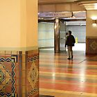 Looking Lost, Union Station, LA by Jane McDougall