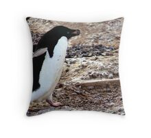 Adelie with Pebble Throw Pillow