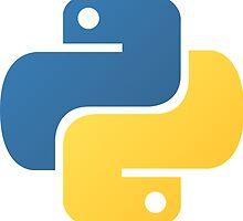 Python logo by Finzy