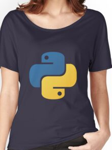 Python logo Women's Relaxed Fit T-Shirt