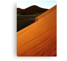Glowing Slopes Canvas Print