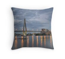 Last one to the Bridge is a rotten Egg Throw Pillow