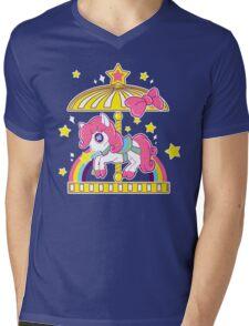Pony Carousel Mens V-Neck T-Shirt