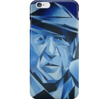 Cubist Portrait of Pablo Picasso: The Blue Period iPhone Case/Skin