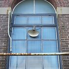 Cockatoo Island - RB Rumble 2012 - Window Lamp Blue by Donnahuntriss