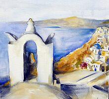 Memories of Santorini #2 by Ivana Pinaffo