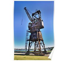 Slipway Crane Poster