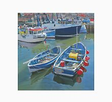 Side by side in Whitby Harbour Unisex T-Shirt