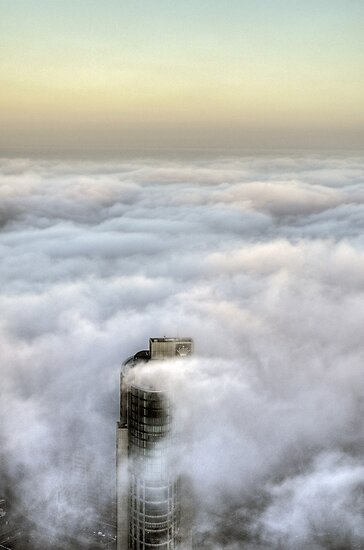 Crown under fog by Lucas D'Arcy