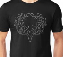 WHITE STAG SILHOUETTE Unisex T-Shirt