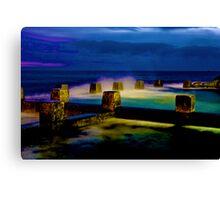 STARTING BLOCKS @ NIGHT Canvas Print