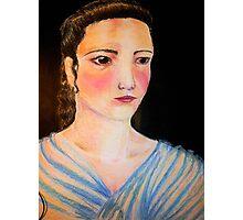 Pastel Woman Photographic Print