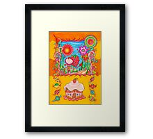 Cream and Candy's Framed Print