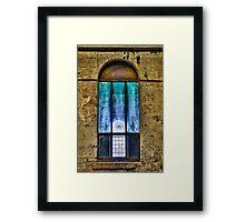 Window to the light Framed Print