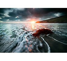 Storn Dawn Photographic Print